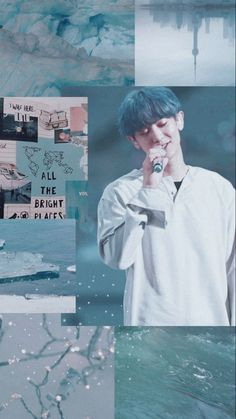 Read Last Request Cast By Kyungsoo Aesthetic Collage, Blue Aesthetic, Kpop Aesthetic, Park Chanyeol Exo, Kpop Exo, Kyungsoo, Taemin, K Pop, Exo Lockscreen