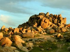 Rock Formations - Mojave Desert, 15 miles from Ridgecrest, California