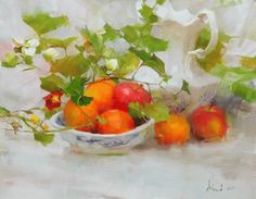"""Richard Schmid  Born 10-5-34 in Chicago.  Educated at the American Academy of Art. Schmid is considered one of the greatest living American realist artists, painting in """"the Grand Manner,"""" mingling """"virtuosity and unrestrained joy in art."""" [1]"""
