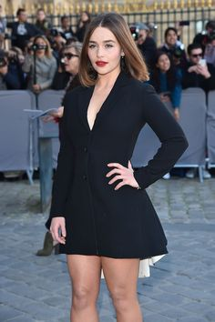 Emilia Clarke  Check out These HOTTEST ladies Actresses Photo gallery For more:http://www.hollywoodobsessed.com/hottest-female-celebrities-under-30/
