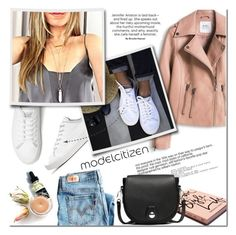 """""""Modelcitizen Spring time"""" by purpleagony on Polyvore featuring rag & bone, Garance Doré, Levi's, Spring, whiteshoes, SpringOutfit, mcheartsu and modelcitizen"""