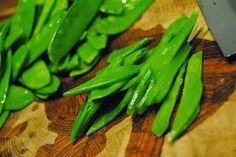 Mundfreude: Kochen für den WWF - Asia-Garnelen mit Zuckerschoten-Salat