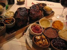a great steak I remember from a great place in Argentina