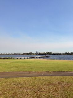 beside Maylands sailing club