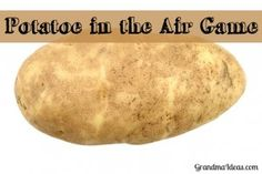 Potato in the Air Game is a fun game to play for St. Patrick's Day -- or ANY day when you need a game to play with kids.