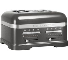 kitchenaid 5kmt4205bms artisan 4 slice toaster from Currys Kitchen Appliances Uk