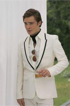 The Best Of Gossip Girl Fashion- Chuck straight up killin it