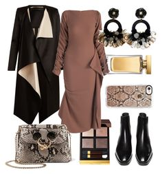 """""""Fall dress"""" by jasminsangalyan on Polyvore featuring Tom Ford, Roland Mouret, J.W. Anderson, Ranjana Khan, Casetify and Dolce&Gabbana"""