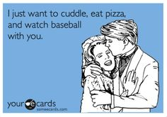 This would be my perfect man that would wanna do this with me! except for football not baseball