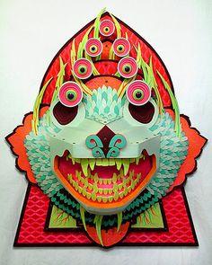 Paper mask.