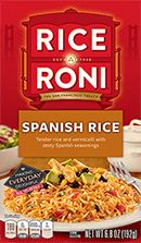 Pack) Rice-A-Roni Rice & Vermicelli Mix, Spanish Rice, oz Box Rice Recipes, Gourmet Recipes, Pasta Recipes, Yummy Recipes, Spanish Pork Chops, Rice A Roni, Mexican Seasoning, Beef And Rice, Spanish Rice