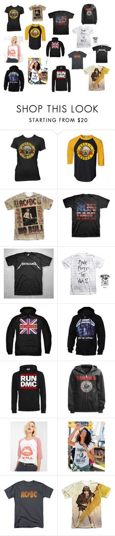 """Rock N Roll by Goto Hoodie"" by goto-hoodie ❤ liked on Polyvore featuring Floyd and Junk Food Clothing"