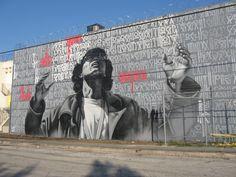 El Mac + Retna #elmac #retna #streetart