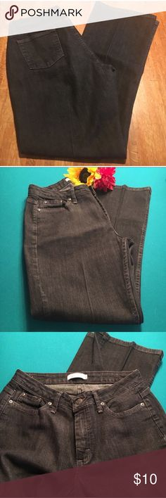 "Black Riders Jeans, size 6 petite These jeans are like new and boot cut style. Inseam is 29"", and the waist laid flat is 15.5"". Rider Jeans Boot Cut"