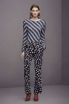#Altuzarra #PreFall Look 8 #Polkadots #Stripes