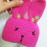 crochet bunny por a busy little hook