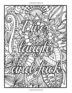 WHATEVER Coloring Page, Coloring Book Pages, Printable Adult ...