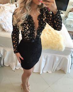Lace Prom Dress,Long Sleeve Prom Dress,Pencil Prom Dress,Fashion