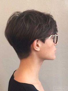 ... short short hair short pixie