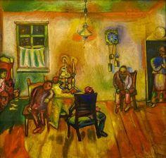 Marc Chagall, Sabbath, 1910