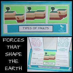 Introducing another chapter in the Earth Science Interactive Notebook Series: Forces That Shape the Earth. Each chapter in the series will showcase many activities for the students (both middle and high school) to process the information given by teachers. The engaging activities vary to enable all students to use and benefit from different learning styles.