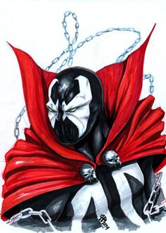 #Spawn #Fan #Art. (Spawn) By: Romerquindara. (THE * 5 * STÅR * ÅWARD * OF: * AW YEAH, IT'S MAJOR ÅWESOMENESS!!!™)[THANK Ü 4 PINNING<·><]<©>ÅÅÅ+(OB4E)