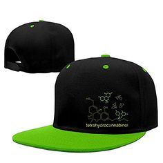 eefba6fb4b1b THC Molecule Weed Cannabis Snapback Baseball Cap - Brought to you by Smart-e