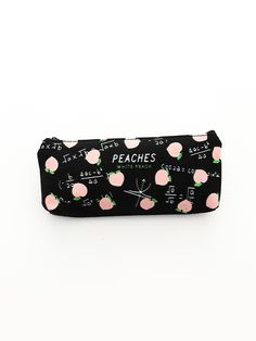 To find out about the Honey Peach Pencil Case at SHEIN, part of our latest Writing Supplies ready to shop online today! Cute School Supplies, Office Supplies, Bookcase Styling, Beauty Case, Shop Front Design, Cosmetic Case, School Fun, Canvas Fabric, Free Gifts