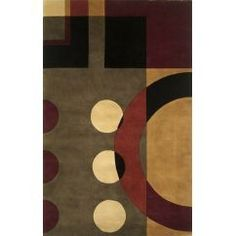 KAS Rugs 9125 Signature Contempo Area Rug, 5 by 11-Feet, Jeweltone>wool3119.99