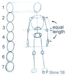 How to Draw a Body Figure | Draw a Manga Character - How to Draw a Basic Manga Character