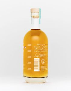 Love the color combination & the handwriting on the back. Hellstrøm Aquavit, designed by Olssøn Barbieri As, Norway.