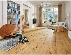 MEISTER Lindura-Holzboden Diele HD 300 2200x270x11mm 8410 Eiche rustikal gebürstet naturgeölt