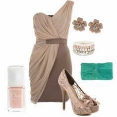 This is all the info I have on this outfit so far. The dress is from to