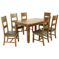Roscrea Fixed Top Dining Table Dining Chairs, Dining Room, Dining Table, Contemporary Dining Sets, Flooring Shops, Traditional Bedroom, Rustic Elegance, Acacia Wood, Bed Sizes