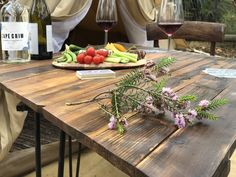 Imagine sitting back by your Luxury Accommodation and relaxing with this mouth-watering platter and soothing wine while surrounded by nature. Luxury Accommodation, Sit Back, Platter, Wine, Nature, Table, Home Decor, Naturaleza, Decoration Home