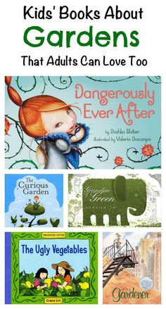 5 Kids' Books About Gardens That Adults Can Love Too - Planet Jinxatron