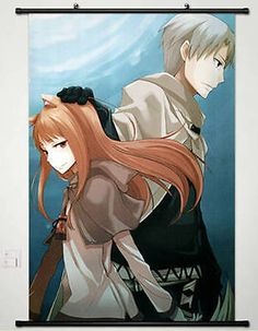 New Spice and Wolf Horo Home Decor Anime whole Poster Wall Scroll Cosplay New