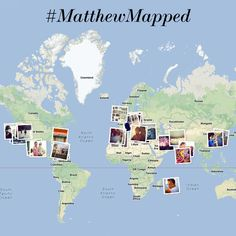Thank you Matthew Williamson for taking us around the world this week with #MatthewMapped! #netaporter #MatthewWilliamson
