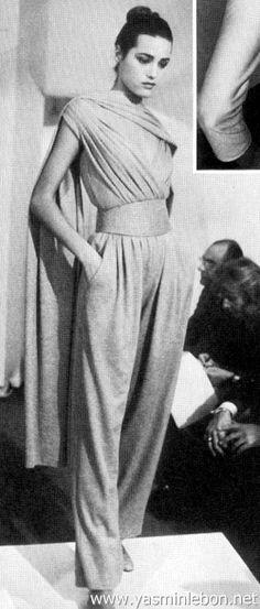 san francisco d29cf 5b98b Yasmin Le Bon - Donna Karan 1987