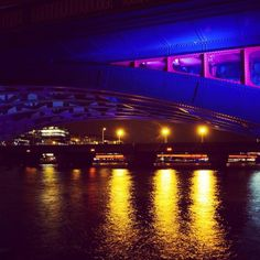 Another entry from Sally - My #Blue Bridge in London - Lovely picture! #janinawhitersmile