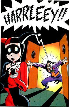 Mad Love, Batman, Joker, Harley Quinn