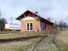 Train depot in Ohio