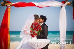 #Strand #Traumhochzeit #Zivilzeremonie #rot #kuss #Mexiko #RivieraMaya #Playadelsecreto #heirateninmexiko
