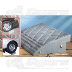 Prime Products Curb Ramp - Foot Pads, Casters & Parts - Jacks & Levelers