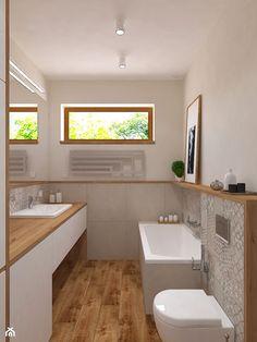 Dom jednorodzinny w Konstantynowie - Łazienka, styl skandynawski - zdjęcie od Design Factory Studio Projektowe