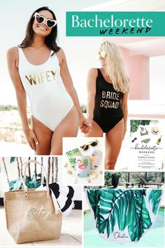 Girls weekend will be so much fun! Start planning your bachelorette party weekend in the sun. Fun outfit ideas for all the girls to wear. Games, Invitations and more great ideas! #bachelorette #wedding Bridal Shower Questions, Bridal Shower Games, Bridal Shower Invitations, Bridal Showers, Bachelorette Party Games, Bachelorette Weekend, Newlywed Game Questions, Wear Games, Wedding Trends