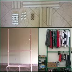 Sampaio's Art: Arara de PVC Montagem e Customização [Em edição]