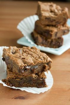 Thanksgiving Recipes : Chocolate Chip Toffee Bars