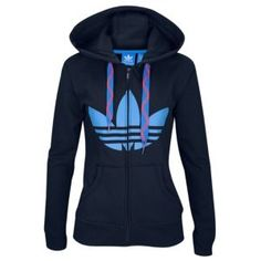 adidas Originals Trefoil FZ Hoodie - Women's at Champs Sports