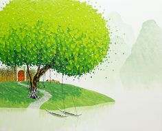 Vietnamese Landscapes Painted by Phan Thu Trang